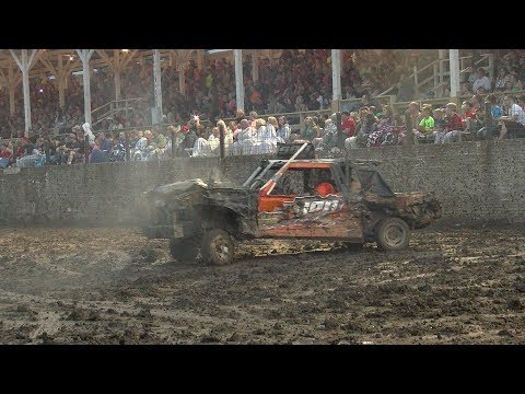 WELDED FULL SIZE DEMOLITION DERBY 2017