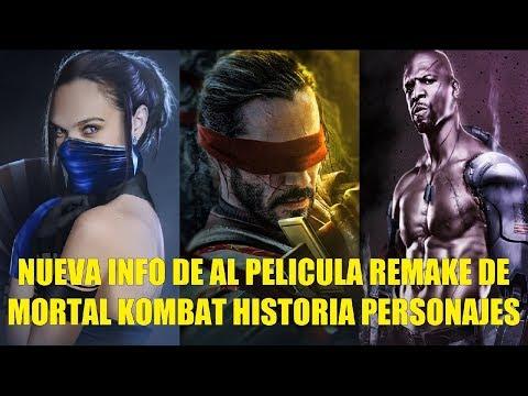 Nueva Info de la Nueva Pelicula Remake de Mortal Kombat 2020 Historia Personajes y Mas thumbnail