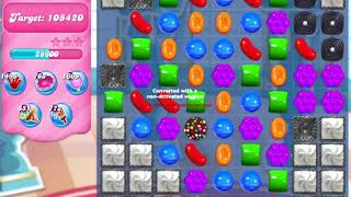 Candy Crush Saga Level 223 NO BOOSTERS no timed level