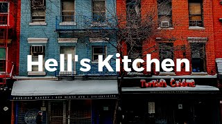 [HD] New York Eyes - West 46th Street, Hell's Kitchen [ENG]