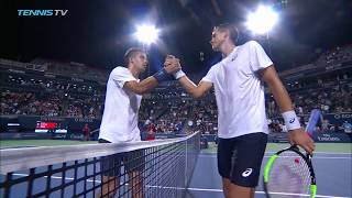 Raonic, Coric, #Djokerson sail through | Rogers Cup 2018 Highlights Day 1