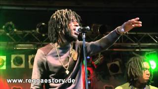 Chronixx - 1/4 - Most I + Beat & A Mic - Reggae Jam 2013