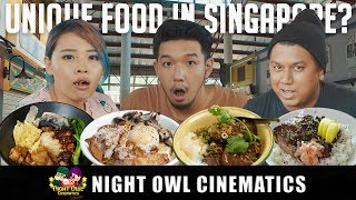 FOOD KING: Unique Hawker Eats!