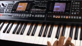 Roland E-A7 Indian Rhythm Demo