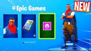 "How to download the *NEW* Fortnite Celebration Pack ""PRODIGY"" Skin & ""CALCULATOR"" Back Bling"
