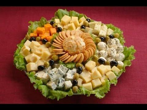 Сырная нарезка на праздничный новогодний стол 2014.