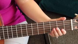 Como Tocar La Guitarra Por Primera Vez { Tutorial