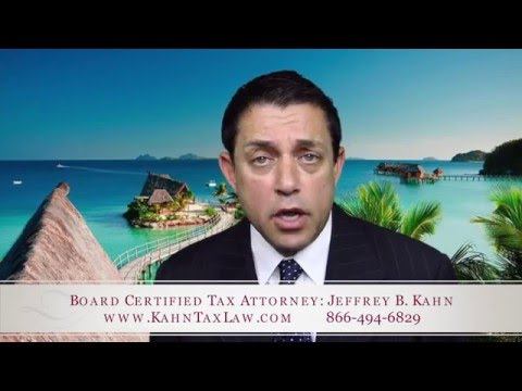 Offshore Tax Attorney can help you resolve IRS problems