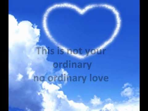 no ordinary love by jennifer love hewitt :)