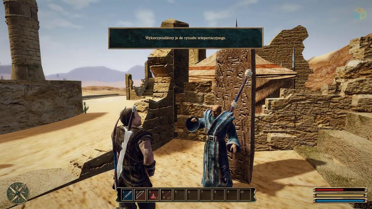 Gothic 3 – Thorus i Saturas o ucieczce z Khorinis - YouTube