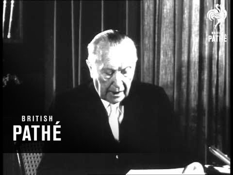 Interview With Dr. Adenauer (1961)