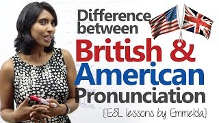 Difference between American & British English pronunciation (Improve your English speaking) thumbnail