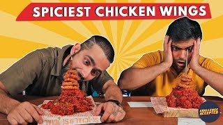 Spiciest Chicken Wings Eating Challenge| Challenge Accepted#19