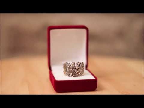 Silver Masonic Ring - Scottish Rite 32nd degree Custom Ring, video review