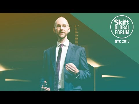 Amadeus Airlines IT Product Marketing Manager Mike Robinson at Skift Global Forum 2017