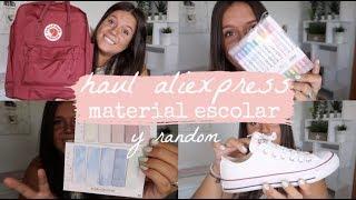 HAUL DE ALIEXPRESS | MATERIAL ESCOLAR Y COSAS RANDOM | Laura Yanes
