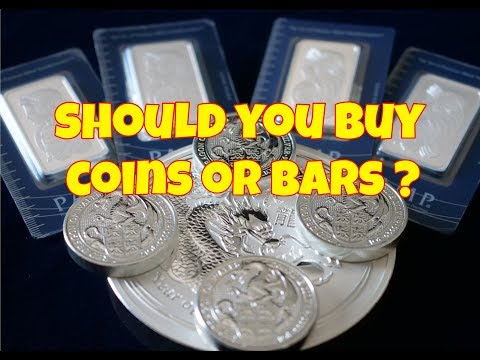 Should You Buy Coins Or Bars ?
