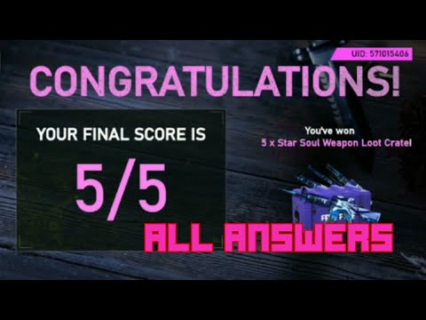 PATCH QUIZ ALL ANSWERS||TOXIC JOKER GAMING||