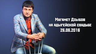 Магомед Дзыбов Все песни Live 2016 год Адыгейская свадьба г Адыгейск
