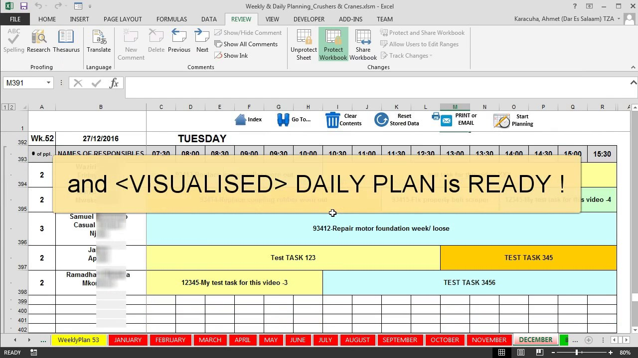 Cherise threewitt when a car does what it's supposed to do, it's pretty. Features Maintenance Planning And Scheduling Excel Template Youtube