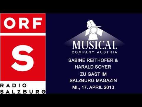 Musical Company Austria zu Gast bei Radio Salzburg 17.04.2013