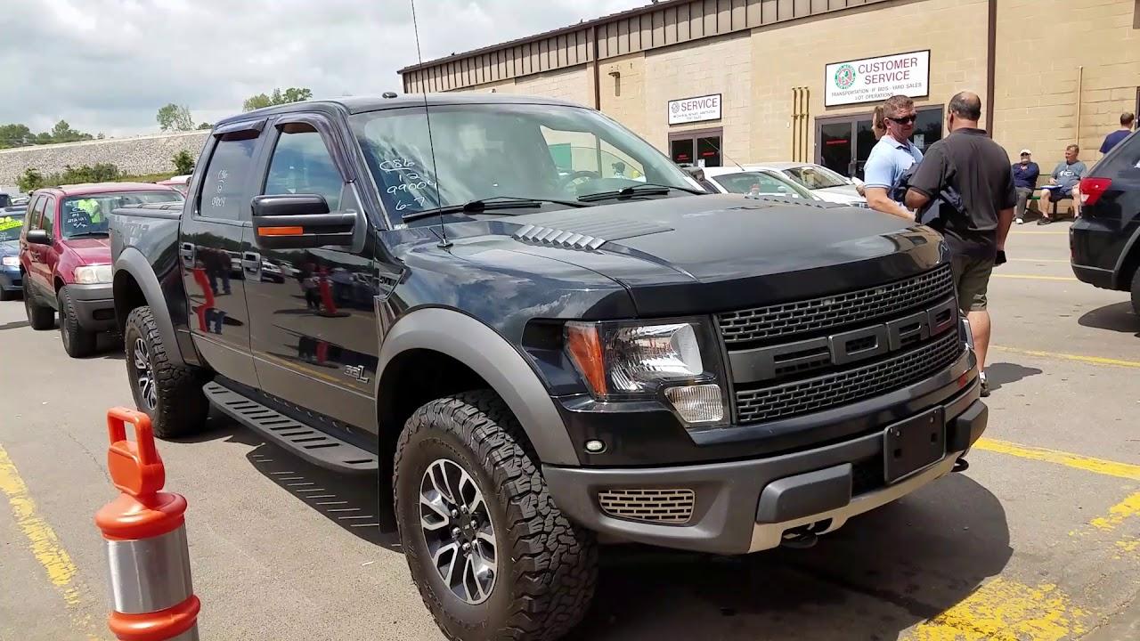 Ford Raptor Svt At Auction