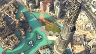 Прыжок с самого высокого здания в мире Burj Khalifa 828 м. Dubai U.A.E.▼Click To Share▼