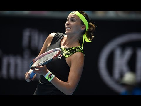 Madison Keys v Yaroslava Shvedova highlights (2R) | Australian Open 2016