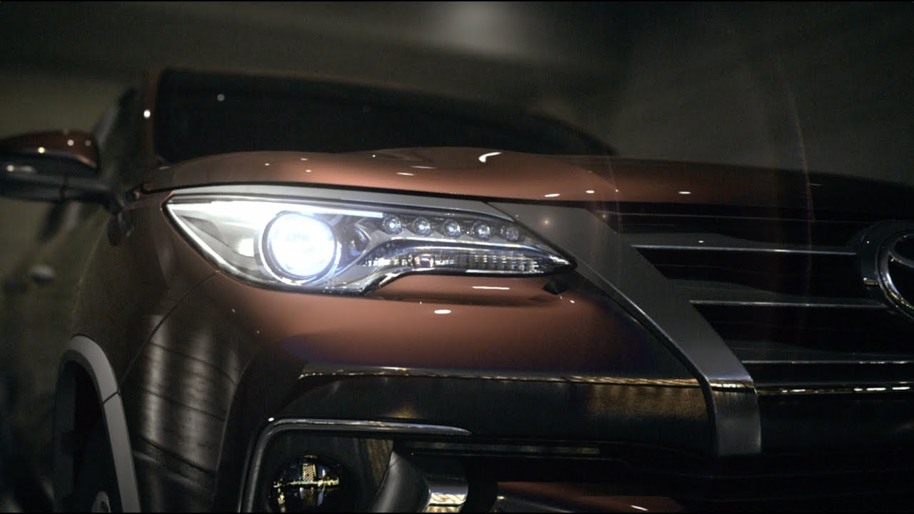Toyota Fortuner Concept Video Toyota Global Site Youtube