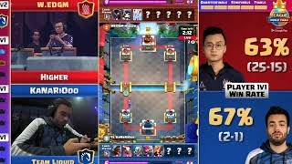 CLASH ROYALE BEST MATCH IN HISTORY! (HIGHER VS KANARIOOO, WON BY 7 POINTS!) FINALS! screenshot 2