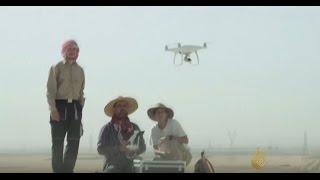 علماء يستعينون بطائرات مسيرة للبحث عن الآثار شمال العراق