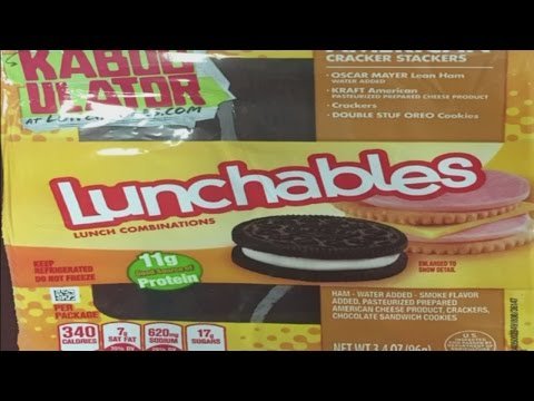 Lunchables recall