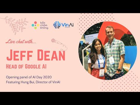 Chat with Jeff Dean: Artificial Intelligence Development in Vietnam
