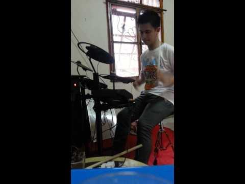 Drum cover ( beautiful in white ) antoniuskie