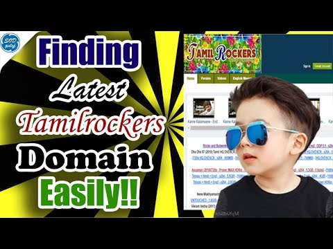 How To Find TamilRockers Latest Domain 100% Working | SOD Tamizh