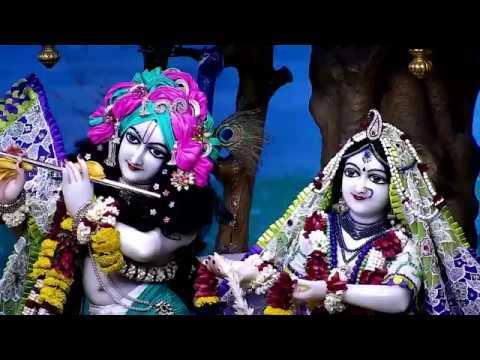 Sri Sri Radha Gopinath Temple  Sringar Aarti Darshan 26th September 2017 Live from ISKCON Chowpatty