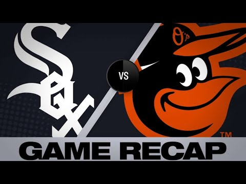 4/22/19: Abreu, McCann lead Sox's 12-2 rout of O's