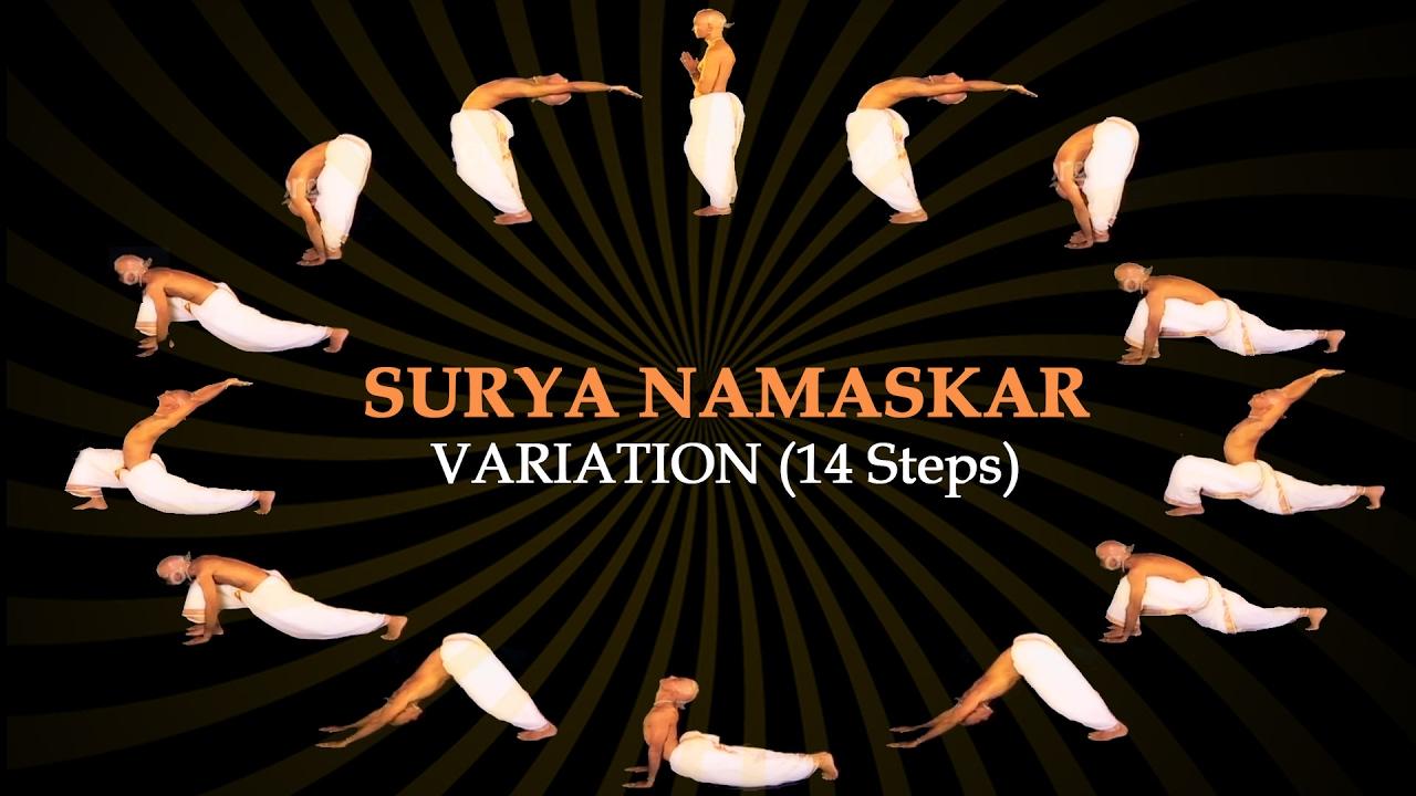 Surya Namaskar Yoga Counting