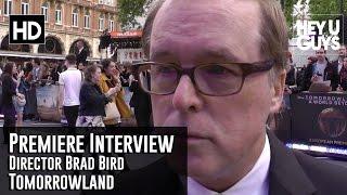 Director Brad Bird Premiere Interview - Tomorrowland