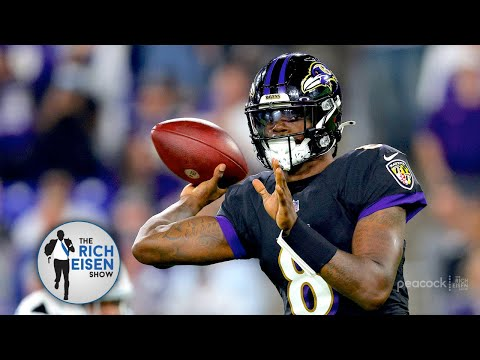 """""""He Was Unreal!"""" - Rich Eisen Makes the Case for Lamar Jackson as NFL MVP Frontrunner"""