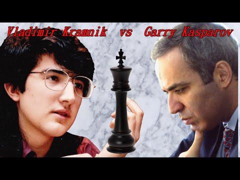 Partite Commentate di Scacchi 157 - Kramnik vs Kasparov - Senza una Donna - 1994 [E92]