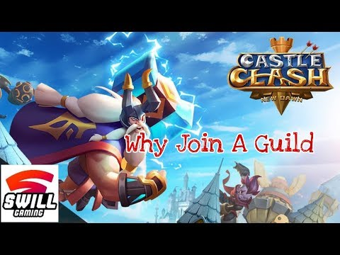 Castle Clash: New Dawn | Why Join A Guild (Android IOS)