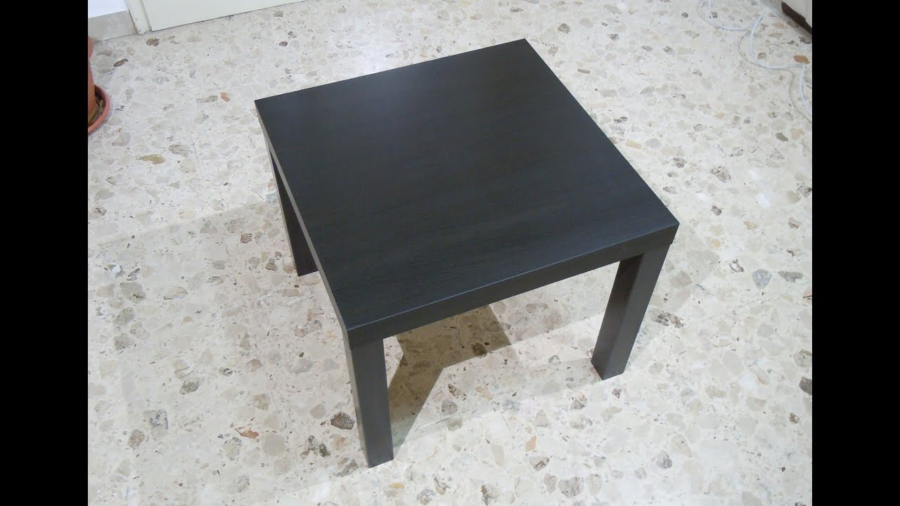 how to assembly lack side table ikea - End Tables Ikea