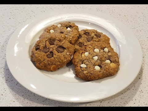 Healthier Option - Pecan and White Chocolate Chip Cookies