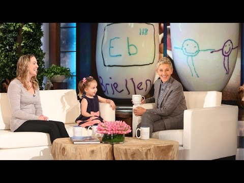 Ellen's Pint-Sized Periodic Table Expert is Back