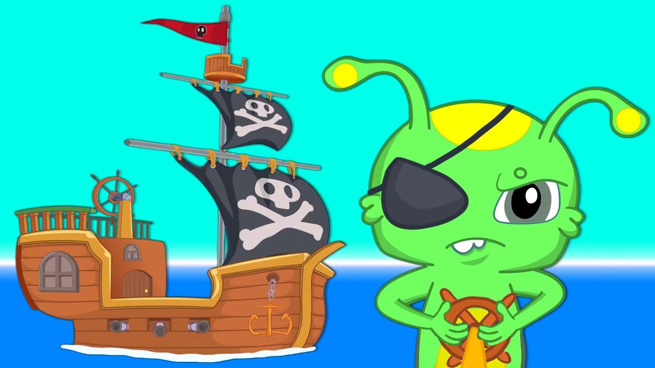 Groovy Le Martien - Chasse au trésor! Qu'est-ce que le trésor des pirates aura à l'intérieur?
