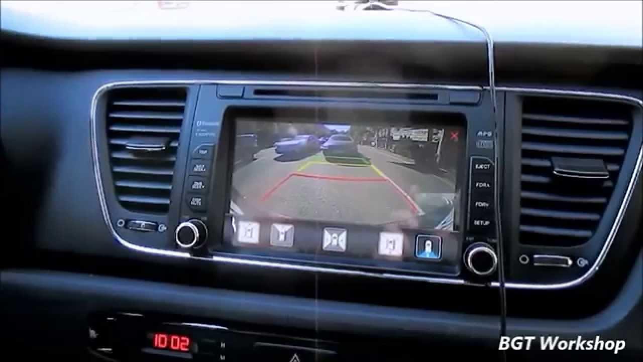 Система кругового обзора, 360 - сенсорное управление