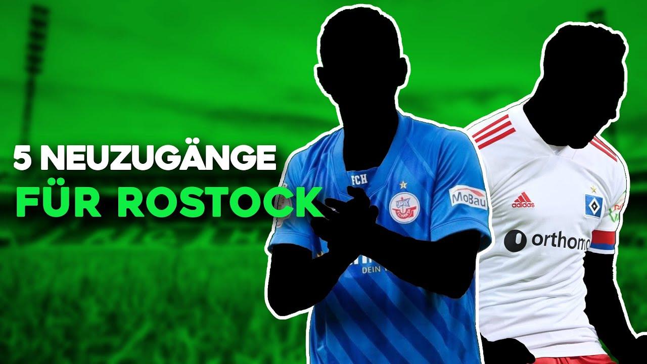 Hansa Rostock: 5 Transfers für den Klassenerhalt in der 2. Bundesliga!