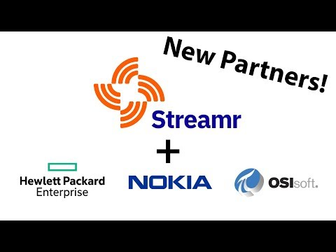 Consensus 2018 - Streamr Partners with HPE, Nokia and OSIsoft on IoT Data sharing