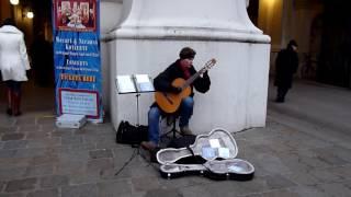 классическая гитара в Праге